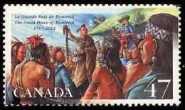 Canada (Scott No.1915 - Great Peace Negotiations) [**] - 1952-.... Règne D'Elizabeth II