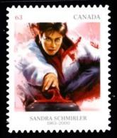 Canada (Scott No.2706 - Médaillée Olympique Passée / Sandra Schmirler / Former Olympics Medal Winner)+ (**) - 1952-.... Règne D'Elizabeth II