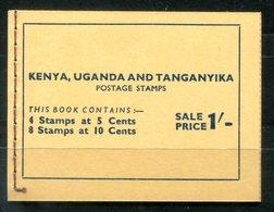 4793 - OSTAFRIKANISCHE GEMEINSCHAFT - Sehr Gut Erhaltenes Markenheft Von 1954 Mit Mi.Nr. 92 Und 93 - Autres - Afrique