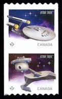 Canada (Scott No.2914a - Star Trek) [**] Coil Pair - 1952-.... Règne D'Elizabeth II