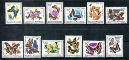 4794 - RUANDA - Mi.Nr. 119-124 Und 147-152 ** - Schmetterlinge / Butterflies - Ruanda