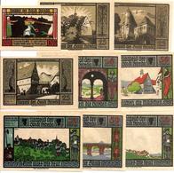 Notgeld Lebeda 10, 4 X 25, 4 X 50 Pf 1921 - [11] Emissioni Locali