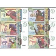 TWN - NIMROD ISLANDS (private Issue) - 10-500 Dollars 2018 Set Of 6 UNC - Banknotes