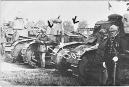 Armée Française BCC RCC  501  FT 17  Char Blindé 13 RI - Guerre, Militaire