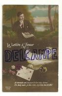 """Photographie Montage. """"La Lettre D'Amour"""". Lettre, Colombe, Pensées. REX 1058. 1920 - Non Classés"""