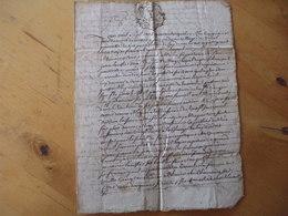 Legs, Testament De Jean Lacoste à Vidal De Capdenac. 1744 - Documenti Storici
