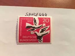 Germany International Letter Week 1957 Mnh - [7] Federal Republic