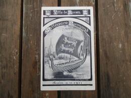 CPA 76 ROUEN FETES HISTORIQUES EXPOSITION CONGRES 1911 - Rouen