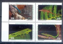 D133- Dominican Republic 2016. Fauna. Reptiles. Lizard. - Dominican Republic