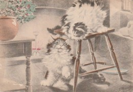 ***  Illustrateur Maudy Chats Barre Dayez Série 1135 Q  --- TTBE - Autres Illustrateurs