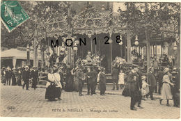 FETE DE NEUILLY (92)  MANEGE DES VACHES - Neuilly Sur Seine