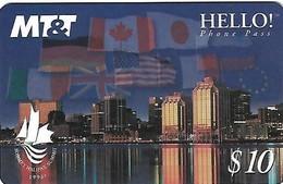 CANADA- PREPAID CARD-MT&T - Canada