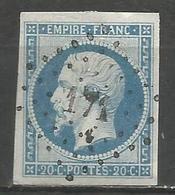 FRANCE - Oblitération Petits Chiffres LP 171 AUDIERNE (Finistère) - 1849-1876: Période Classique