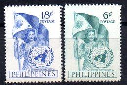 Sellos  Nº 393/4   Filipinas - Filipinas