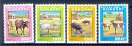 D142- Set Of Burundi Animals. - Burundi