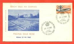 TUFFI - NUOTO -OLIMPIADI ROMA - 1960 - PISCINA DELLE ROSE - Natación