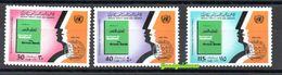 1978- Libya - International Anti-Apartheid Year Against Discrimination- Complete Set 3v.MNH** - Libië