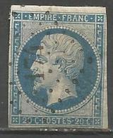 FRANCE - Oblitération Petits Chiffres LP 174 AUDUN-LE-ROMAN (Meurthe & Moselle) - 1849-1876: Periodo Classico