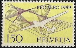Schweiz Suisse 1949: PRO AERO (ERSTE ERNI) Zu 45 Mi 518 Yv PA44 ** MNH (Zu CHF 50.00) - Poste Aérienne