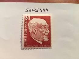 Germany Leo Baeck Rabbi 1957 Mnh - [7] Federal Republic