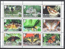 2010 - Papillons - Butterflies - Sheet - MNH(**) - Fantasy Labels