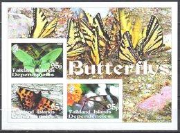 2010 - Papillons - Butterflies -  Ms - MNH(**) - Fantasy Labels