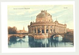 Germany роstcard Berlin сarte Pоstale Museum - Sin Clasificación