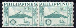 Sello En Pareja  Nº A-50  Filipinas - Filipinas