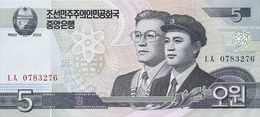 COREE DU NORD 5 WON 2009 UNC P 58 - Corée Du Nord