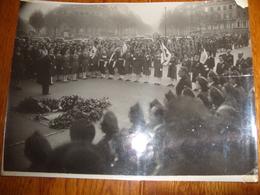 Photo Delhay  Paris Ceremonie Croix Rouge Femme Secouristes 1946 - Guerre, Militaire