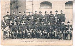 75 PARIS GARDE REPUBLICAINE  CAVALERIE  TROMPETTES   PA77 - Unclassified