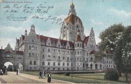 HANNOVER - Neues Rathaus, Feldpostmarke, Gel.1916 - Hannover