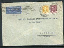 Iraq - Enveloppe De Baghdad Pour Paris En 1939 - Prix Fixe - Réf JJ 193 - Iraq
