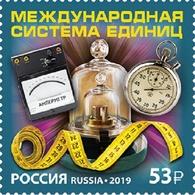 Russia, 2019, International System Of Units 1 Stamp - Ungebraucht