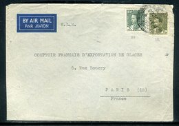 Iraq - Enveloppe De Baghdad Pour Paris En 1938 - Prix Fixe - Réf JJ 194 - Iraq