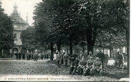 14067 -  Val De Marne - VINCENNES - SAINT  MANDE  - HOPITAL MILITAIRE BEGIN  BELLE ANIMATION  Circulée 1918 - Vincennes