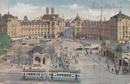 MÜNCHEN - Karlsplatz Rondell, Gel.1936, DR-Sonderstempel - München
