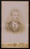 Photo-carte De Visite / CDV / Homme / Man / Photographer / C. Van Der Sypt Boute / Gand / Gent / 2 Scans / 1899 - Photos