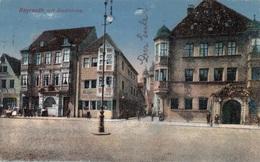 BAYREUTH Mit Stadtkirche, Gel.1938, Sonderstempel - Bayreuth