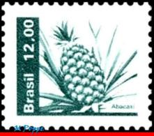 Ref. BR-1664 BRAZIL 1981 FRUITS, ECONOMIC RESOURCES,, PINEAPPLE, MNH 1V Sc# 1664 - Fruits