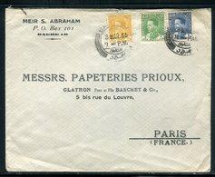 Iraq - Enveloppe De Baghdad Pour Paris En 1936 - Prix Fixe - Réf JJ 199 - Iraq