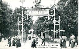 14069 -  Val De Marne - Bois De VINCENNES - Entrée  Du  Vélodrome   Edit. Malcuit - Vincennes