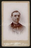 Photo-carte De Visite / CDV / Homme / Man / Photographer / A. Ruys Morel / Kortrijk / Priest / Prêtre / Priester - Ancianas (antes De 1900)