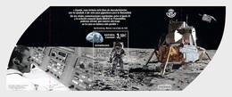 Spain 2019 - 50th Anniv. Of The First Moon Landing Miniature Sheet Mnh - 1931-Hoy: 2ª República - ... Juan Carlos I