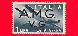 Nuovo - MNH -  ITALIA - Trieste AMG VG - 1946 -  Serie Democratica - Stretta Di Mano, Caproni-Campini 1 - 1 - P. Aerea - 7. Triest
