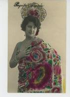 FEMMES - FRAU - LADY - SPECTACLE - ARTISTES - Portrait De L'artiste Espagnole PAQUITA ALCARAZ - Femmes