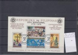 Philippinen Michel Cat. No. Sheet Used 9a - Filipinas