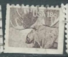 USA 1981 Moose 18c USED SC 1887 YV 1328 MI 1477 SG 1863 - Etats-Unis