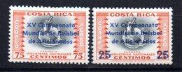 Serie Nº A-311/2  Costa Rica - Costa Rica