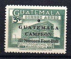 Sello Nº A-369 Guatemala - Guatemala